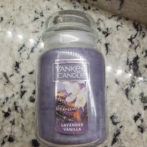 Lavender Vanilla Original Large Jar Candles Laven